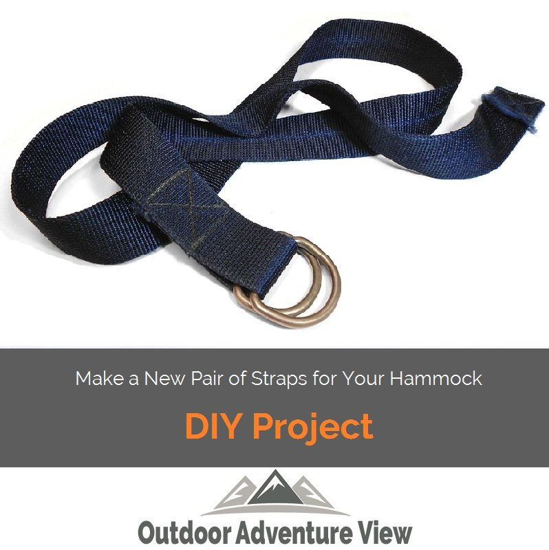 Make a New Pair of Straps for Your Hammock – DIY Project