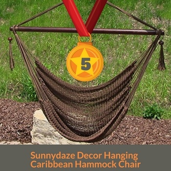 Sunnydaze Decor best Hanging hammock